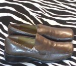 Enzo Angiolini Loafers Flats Military Green