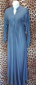 Vintage Moroccan Designer Dress
