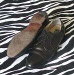 Vintage Bostonian Impression Black Dress Shoes