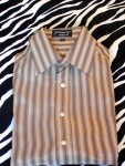 Vintage Givenchy For Chesa Silk Dress Shirt