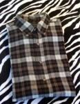 Vintage John Ashford Flannel Button Front Shirt