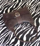 Vintage Jones New York Leather Handbag