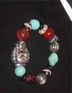 Estate Buddha Bracelet