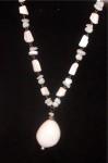 Off White Estate Gemstone Necklace
