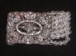 Ornamental Estate Crystal Bracelet