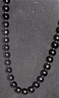 Short Black Estate Necklace