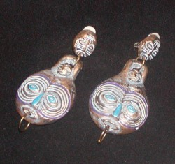 Vintage Ethnic Ear Clips