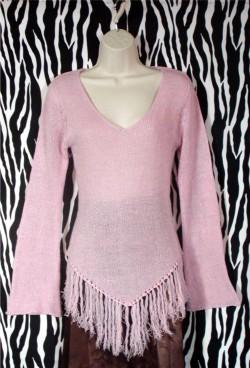 Vintage Rampage Pink Pullover Size M