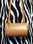 Estate Small Yellow Leather Crossbody Shoulder Bag
