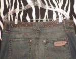 Fabulous Vintage Jeans Dark Denim