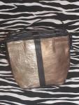 Small Vintage Metallic Bucket Bag