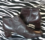 Amalfi Brown Leather Ankle Boots Made in Italy