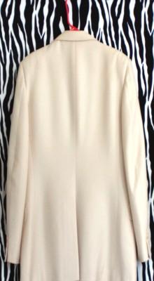 Pierre Balmain Off White Silk And Wool Spring Summer Blazer Sport Coat
