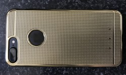 GOLD iPhone 7 Case Gold iPhone 7 Shockproof Silicone Cover